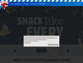 thelaughingcow.co.uk screenshot