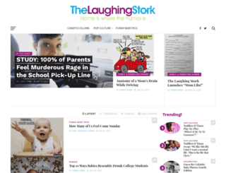 thelaughingstork.com screenshot