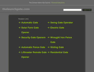 thelaunchgate.com screenshot