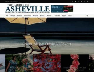 thelaurelofasheville.com screenshot