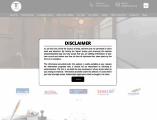thelawdesk.org screenshot