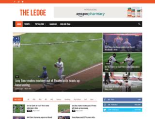 theledgesports.com screenshot