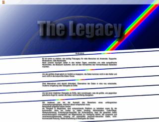 thelegacy.de screenshot