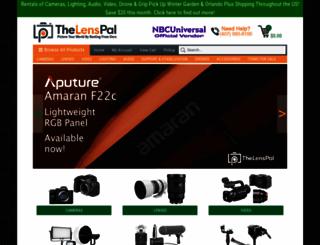 thelenspal.com screenshot