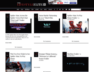 thelifestyleelite.co.uk screenshot