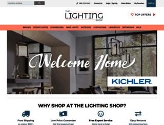 thelightingshop.com screenshot