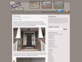 thelilhousethatcould.com screenshot