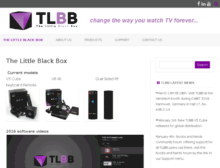 thelittleblackbox.com screenshot