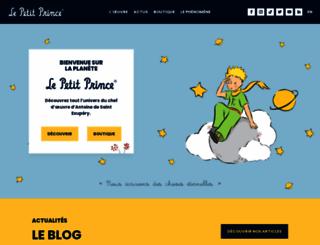 thelittleprince.com screenshot
