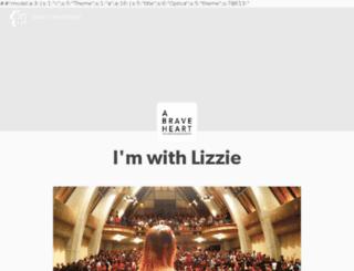 thelizzieproject.com screenshot