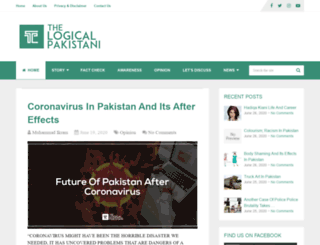 thelogicalpakistani.com screenshot
