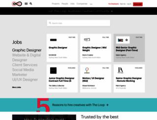 theloop.com.au screenshot