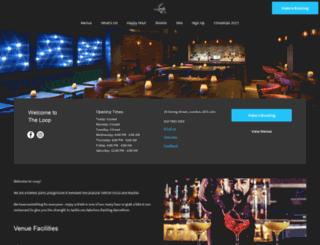 theloopbar.co.uk screenshot