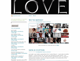 thelovemagazineblog.wordpress.com screenshot