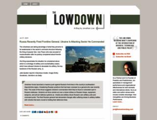 thelowdownblog.com screenshot