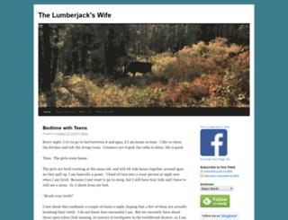 thelumberjackswife.com screenshot