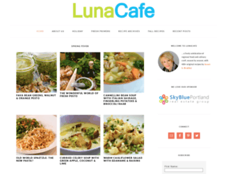 thelunacafe.com screenshot