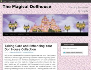 themagicaldollhouse.blog.com screenshot