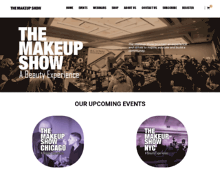 themakeupshow.com screenshot