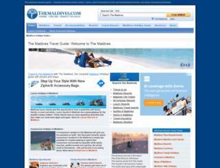 themaldives.com screenshot