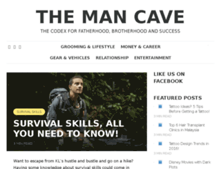 theman-cave.com screenshot