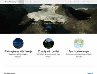 thematicmapping.org screenshot