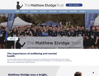 thematthewelvidgetrust.com screenshot