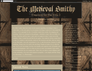 themedievalsmithysims2.blogspot.com screenshot