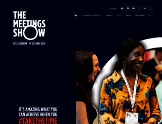 themeetingsshow.com screenshot