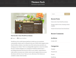 themespack.com screenshot