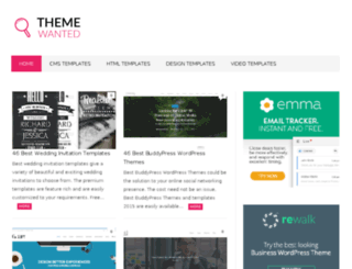 themewanted.com screenshot