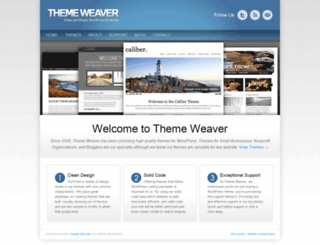 themeweaver.net screenshot