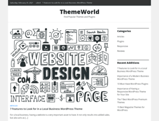 themeworld.org screenshot