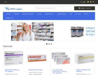 themexicanpharma.org screenshot