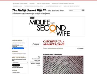 themidlifesecondwife.com screenshot