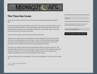 themidnightcafe.org screenshot