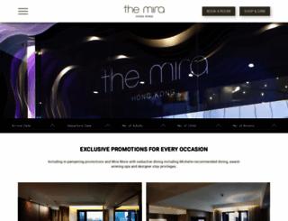 themirahotel.com screenshot