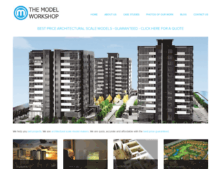 themodelworkshop.com screenshot