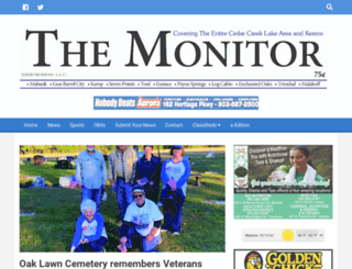 themonitor.net screenshot