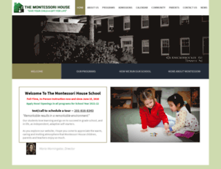 themontessorihouse.com screenshot