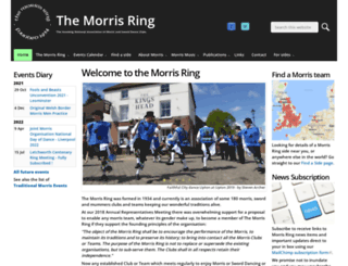 themorrisring.org screenshot