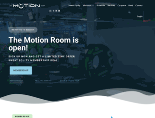 themotionroom.ca screenshot