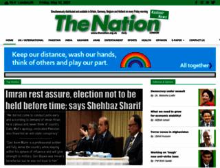 thenation.org.uk screenshot