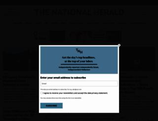 thenationalherald.com screenshot