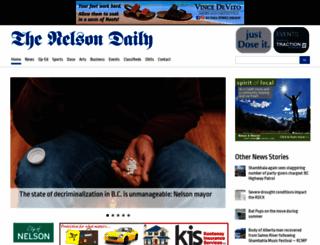 thenelsondaily.com screenshot