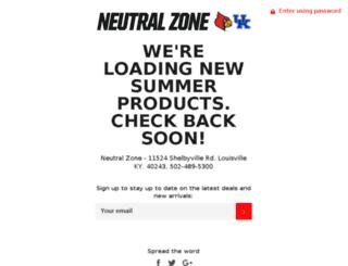 theneutralzone.com screenshot