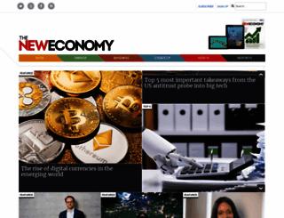 theneweconomy.com screenshot