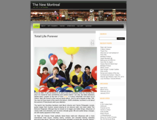 thenewmontreal.wordpress.com screenshot