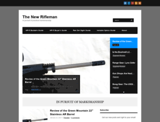 thenewrifleman.com screenshot