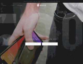 thenoduscollection.com screenshot